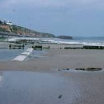 Low Tide on Dawlish Beach