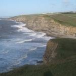 Overlooking Dunraven Bay