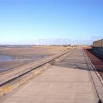 Cycleway and sea defences