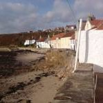 Houses on Shorefront west Pittenweem