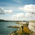 The Royal Citadel, Plymouth – part of the south wall