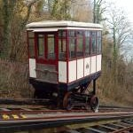 Babbacombe Cliff Railway in Winter