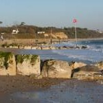 Christchurch: groynes and beacons, Friars Cliff