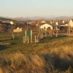 Play area by the shore in Haverigg