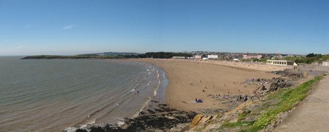 Barry Island Beach Cardiff