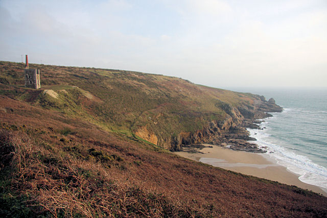 Rinsey Head Beach - Cornwall
