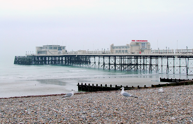 East Pier Beach (Worthing) - West Sussex