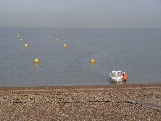 Minster On Sea Beach Kent