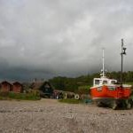 Fishing boat, Branscombe Beach