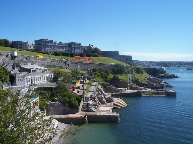 Plymouth Hoe East Beach Photos Uk Beach Guide