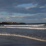 Towards Cullercoats, from Longsands