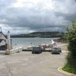 Parking area at Traeth Bychan