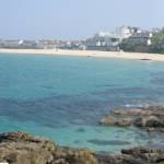 Panorama of Porthmeor Beach, St. Ives