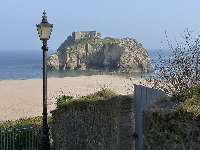 Castle Beach Tenby Castle Beach Tenby Dyfed