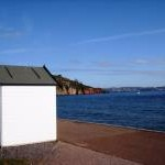 Minimalist Beach Hut, Broadsands beach, Churston