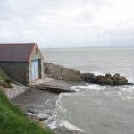 The old lifeboat station at Porth Nigwyl