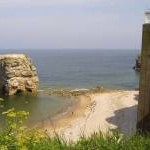 Marsden Rock and lift to The Grotto