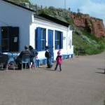 Tea room on Budleigh Salterton seafront