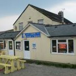 Chip shop on the front at Dinas Dinlle