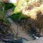 Steps to beach, Harlyn Bay