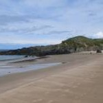 The beach at Porth Oer (Whistling Sands)