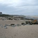 Boulder  beach defences