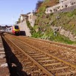 CrossCountry train at Dawlish
