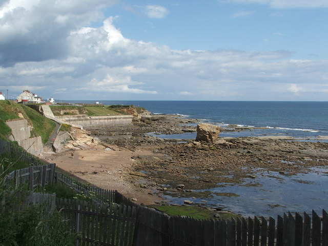 Seaton Sluice Beach - Northumberland