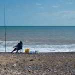 Sea fishing, Mappleton Sands