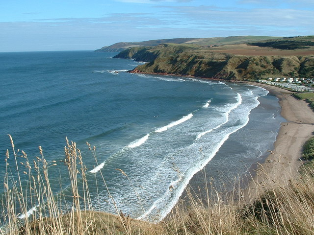 Pease Bay - Scottish Borders