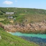 Porthgwarra from the west