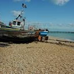 Boat on the beach, Deal