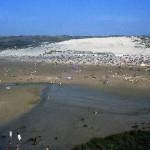 Perrenporth beach (when we used to have a summer)