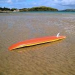 Surfboard, Marble Hill Strand