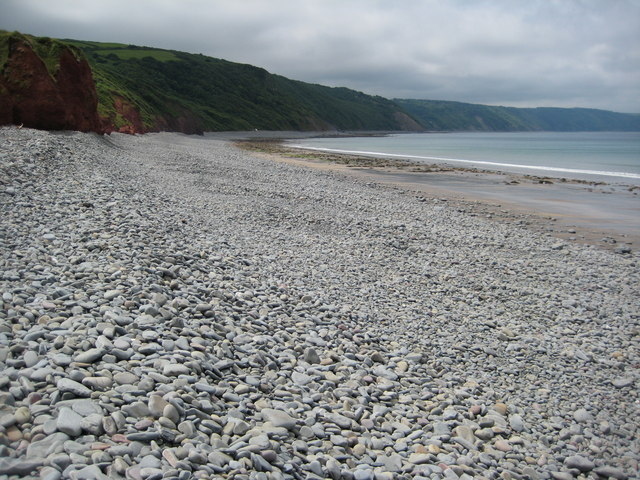 Peppercombe Beach - Devon