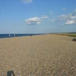 Beach at Cley Eye