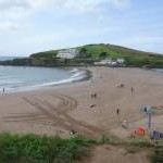 Bigbury-on-Sea: view to Burgh Island