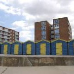 Colour Co-ordinated Beach Huts, Minnis Bay