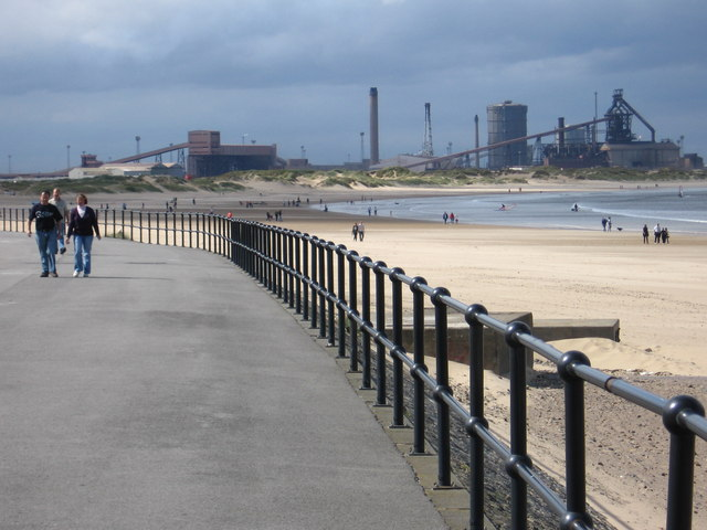 Coatham Beach (Redcar) - Yorkshire