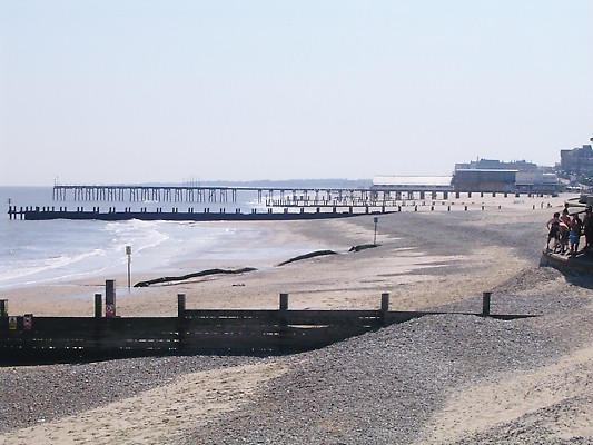 Claremont Pier (Lowestoft) Beach - Suffolk