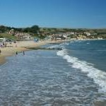 Beach in Swanage Bay (1)