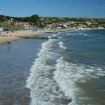 Beach in Swanage Bay (2)