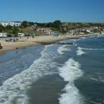 Beach in Swanage Bay (3)