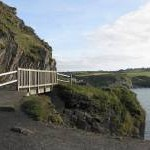 Footbridge by the Blue Lagoon
