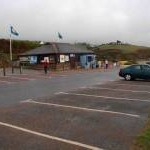 Beach side car park, Bigbury on Sea