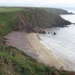 Westdale Bay from the Pembrokeshire coastal path