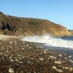 Beach east of Easington Colliery
