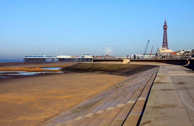 Blackpool lancashire united kingdom