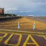 Cleethorpes - Lifeboat slipway view