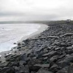 Sea defences at Lehinch